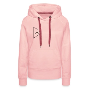 dstrbng official logo - Women's Premium Hoodie