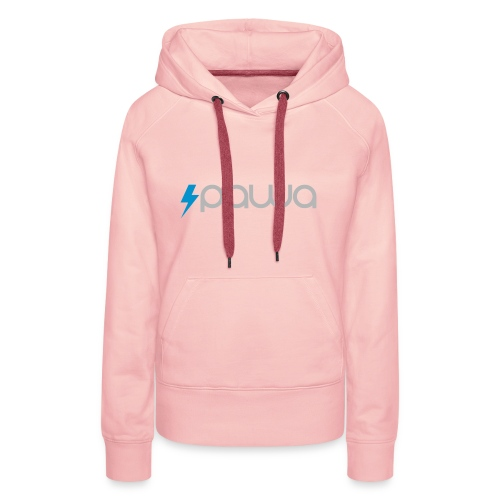 Pawa - Sweat-shirt à capuche Premium pour femmes