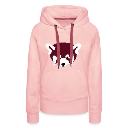 Roter Panda - Frauen Premium Hoodie