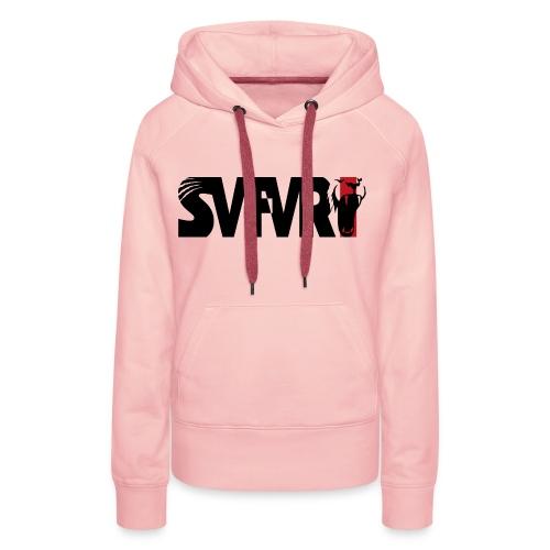 Safari Logo SCHWARZ - Frauen Premium Hoodie