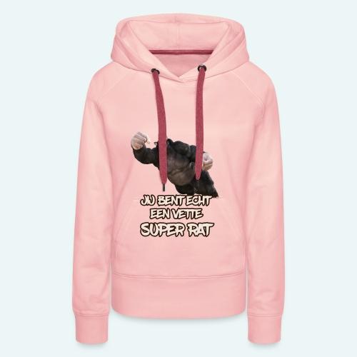 Super rat - Vrouwen Premium hoodie