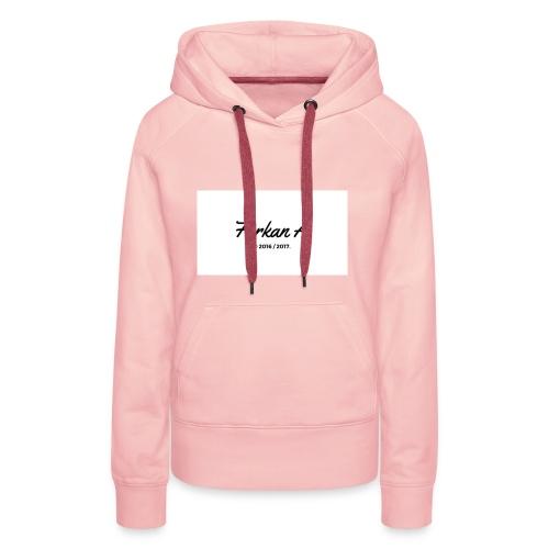 Furkan A - Zwarte sweater - Vrouwen Premium hoodie
