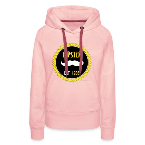 Hipster - Sweat-shirt à capuche Premium pour femmes
