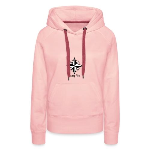 Logo tshirt - Sweat-shirt à capuche Premium pour femmes