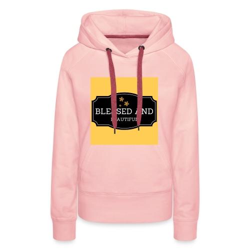 blessed and beautiful xx - Women's Premium Hoodie