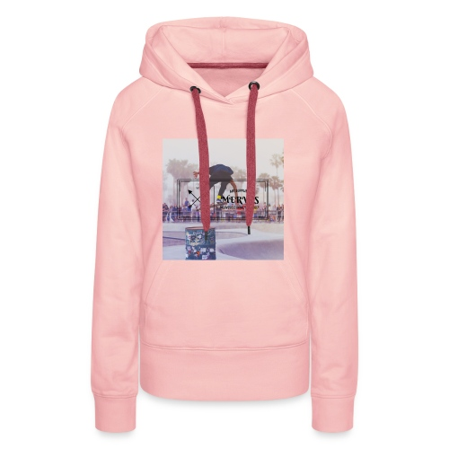 MERVES SKATE DESIGN - Frauen Premium Hoodie