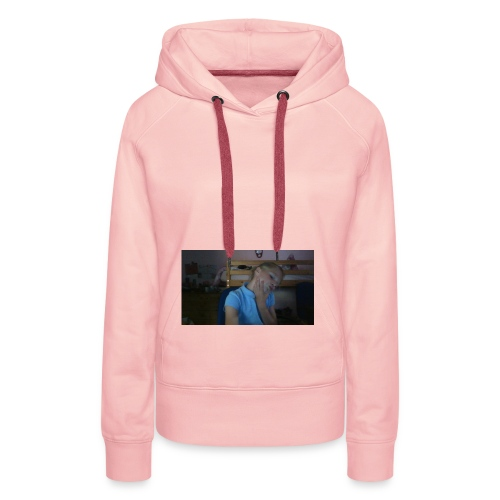 pink lazy hoodie - Women's Premium Hoodie