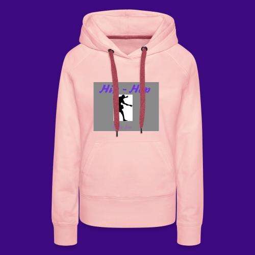 hip hop 2 cre ation - Sweat-shirt à capuche Premium pour femmes