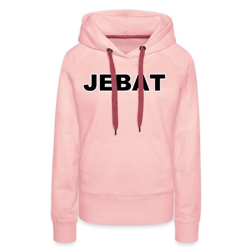 Jebat outline - Frauen Premium Hoodie