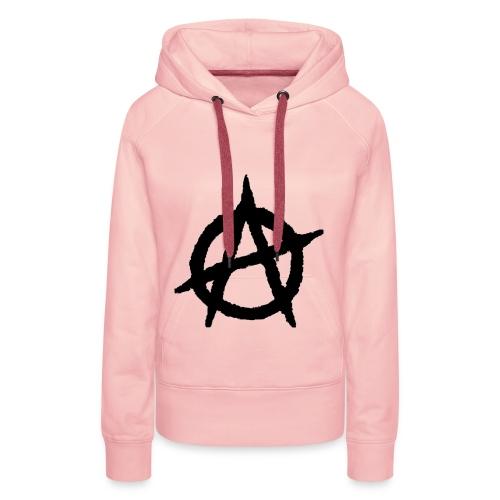 Anarkist Logo - Women's Premium Hoodie