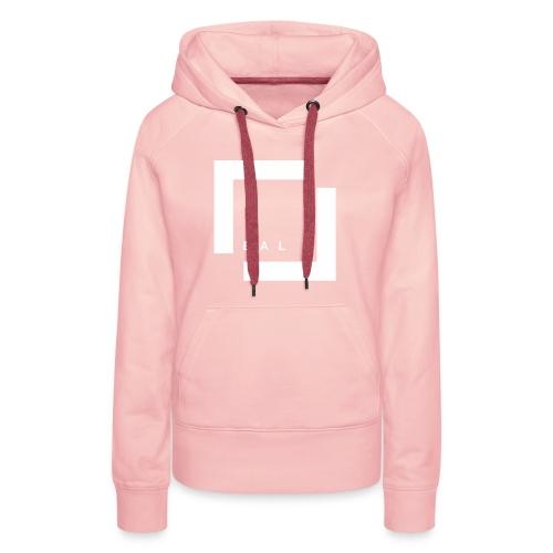 REAL - LOGO - Frauen Premium Hoodie