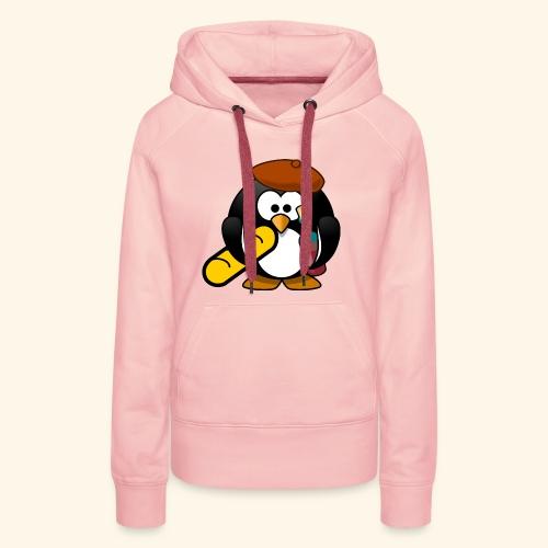Französisch Baguette Pinguin Stereotyp - Frauen Premium Hoodie