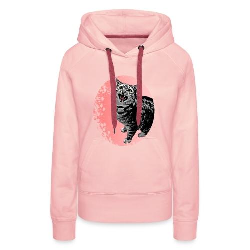 Meow Cat - Frauen Premium Hoodie