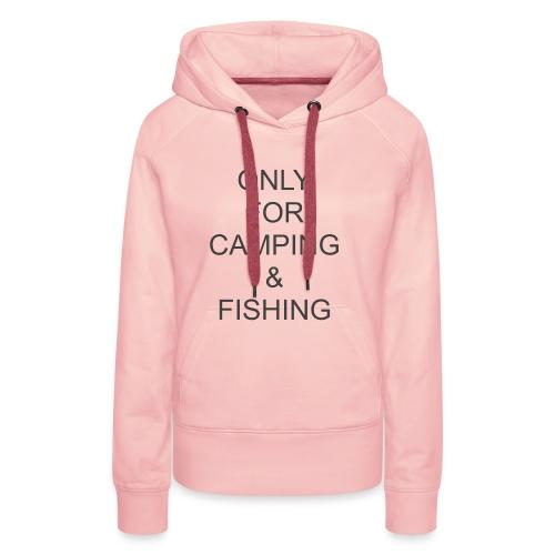 Camping & Fishing - Women's Premium Hoodie