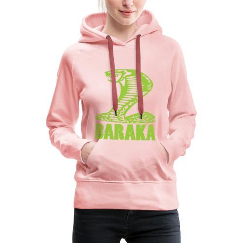 BARAKA La Mode qui prend soin de toi - Sweat-shirt à capuche Premium pour femmes