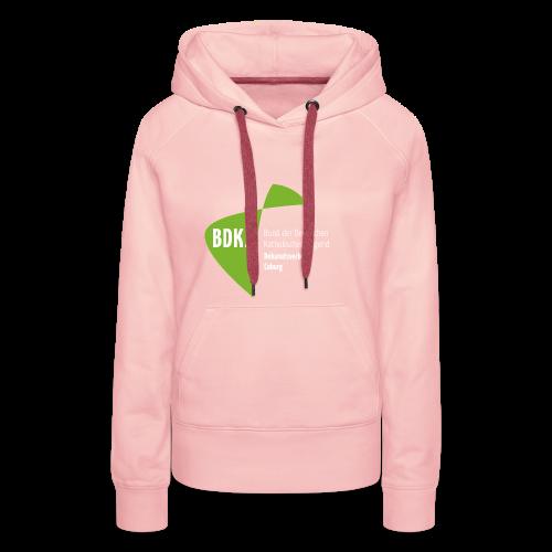 BDKJ Logo Transparenz - Frauen Premium Hoodie