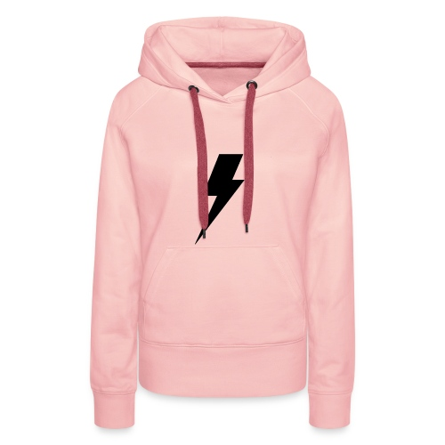 Cicatrice éclair HP - Sweat-shirt à capuche Premium pour femmes