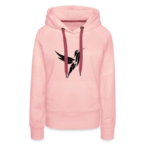 colibri - Sweat-shirt à capuche Premium pour femmes
