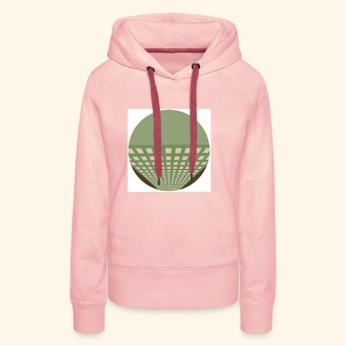 building1 - Sweat-shirt à capuche Premium pour femmes
