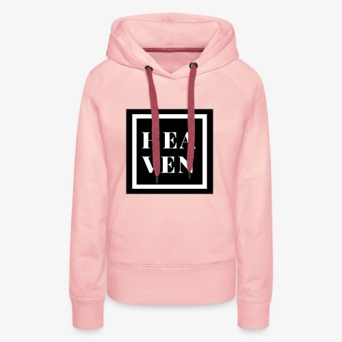 Heaven prod - Sweat-shirt à capuche Premium pour femmes