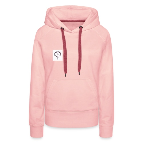love music - Sweat-shirt à capuche Premium pour femmes
