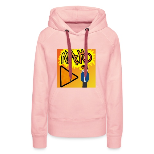 Nacho Title with Little guy - Women's Premium Hoodie