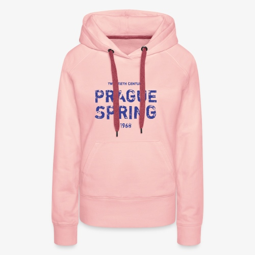 Prague Spring - Felpa con cappuccio premium da donna