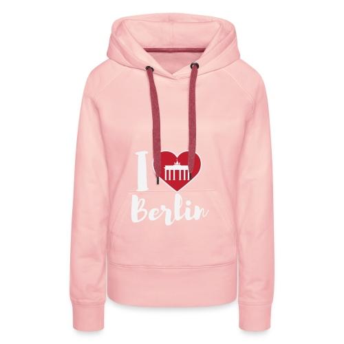 LIMITIERTE EDITION: I Love Berlin,Geschenkidee, - Frauen Premium Hoodie