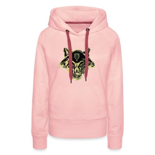 WOLFZER CAMO - Sweat-shirt à capuche Premium pour femmes
