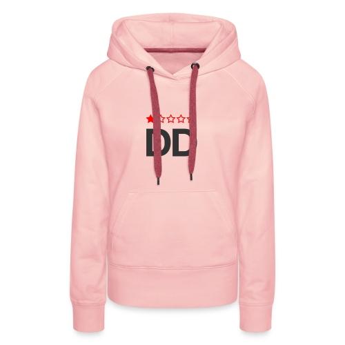 Dårligdommerne simpelt logo - Dame Premium hættetrøje