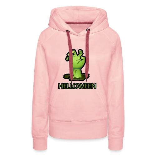 Halloween - Sweat-shirt à capuche Premium pour femmes