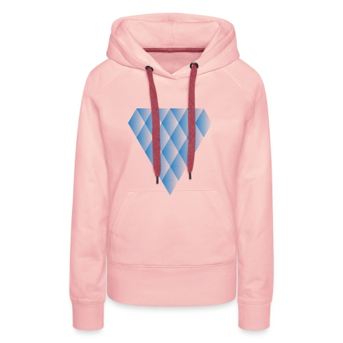 Diamanter i Diamanter - Dame Premium hættetrøje