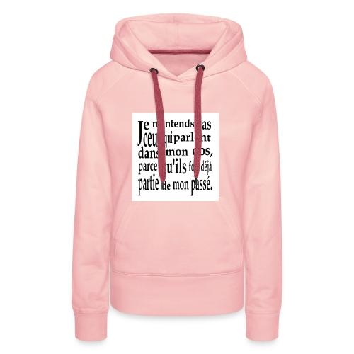 Cadeau amusant pour faux-ami - Frauen Premium Hoodie