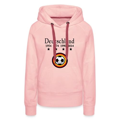 Moderne Fußball-T-Shirts Deutschland - Vrouwen Premium hoodie