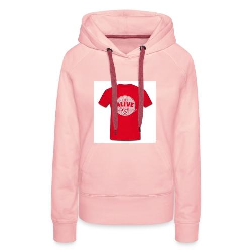 Herre-T-shirt - Dame Premium hættetrøje