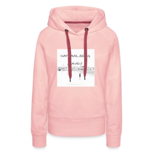 Natural song - Sweat-shirt à capuche Premium pour femmes