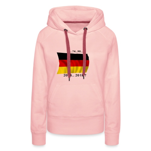 Deutschland Fussball WM Geschenkidee - Frauen Premium Hoodie