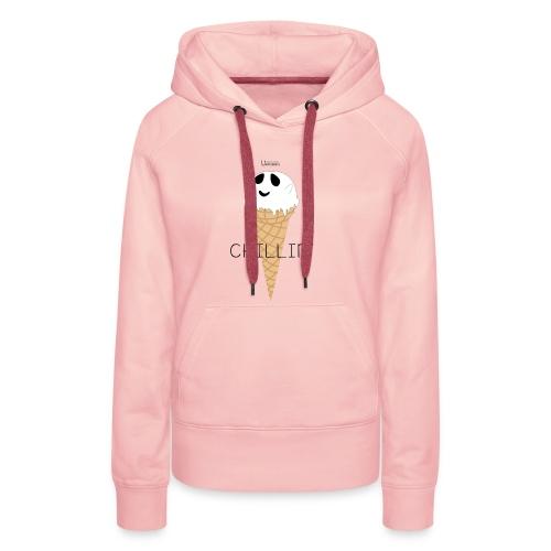 IceGhost - Sweat-shirt à capuche Premium pour femmes