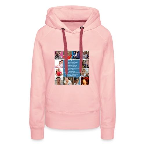 Motiv 4 Design Bild verändern siehe unten - Frauen Premium Hoodie