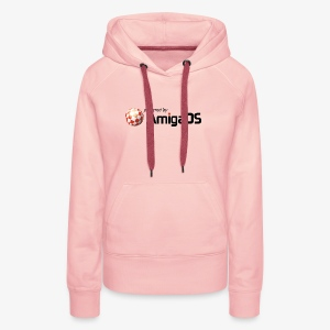 PoweredByAmigaOS Black - Women's Premium Hoodie