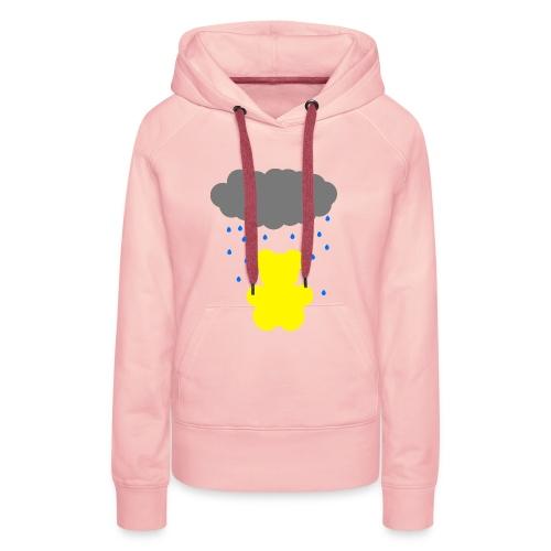 Carl im Regen | Teddy Geschenk Geschenkidee - Frauen Premium Hoodie