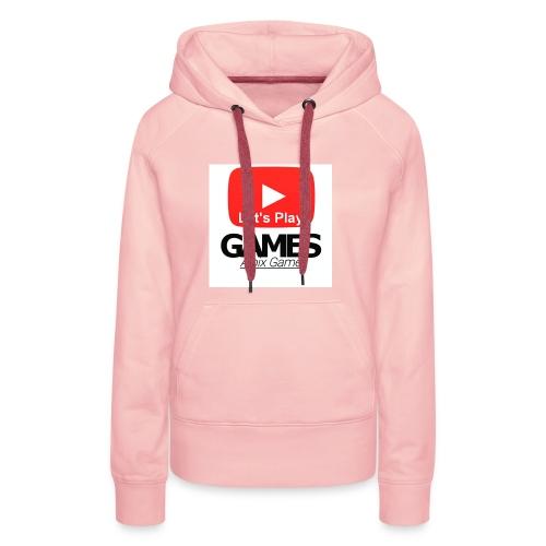 Gönnt euch denn Alpix Gamer Merch - Frauen Premium Hoodie