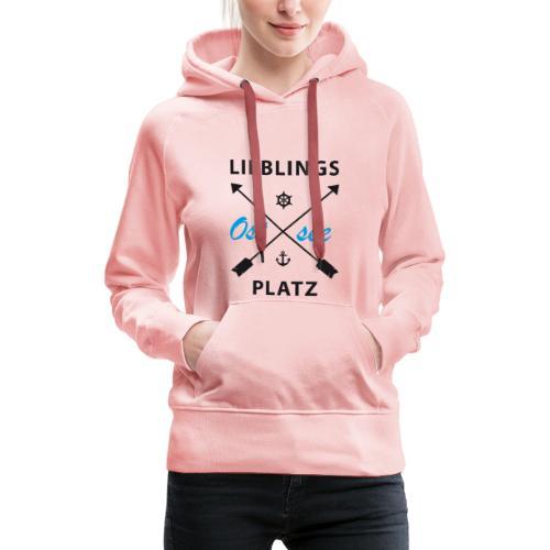 Lieblingsplatz Ostsee - Frauen Premium Hoodie
