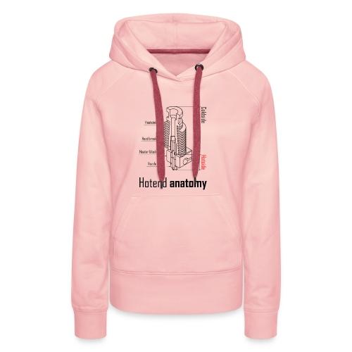 Hotend anatomy - Women's Premium Hoodie
