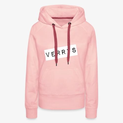 Verrys - Sudadera con capucha premium para mujer