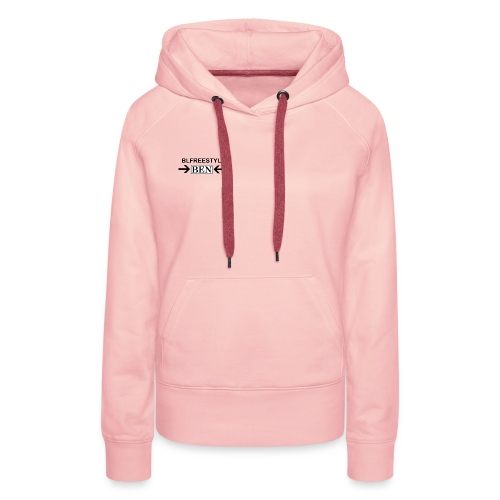 CREATED BY THE YOU TUBER CALLED BLFREESTYLE 11 - Women's Premium Hoodie
