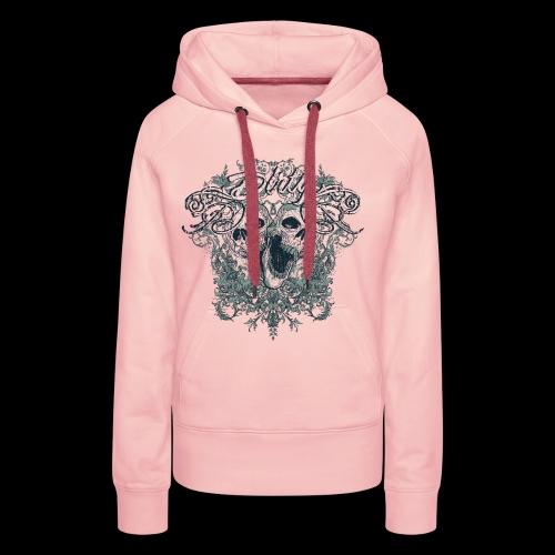 Dirty Totenkopf Gothic T-Shirt - Frauen Premium Hoodie