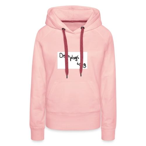 dom plays song - Women's Premium Hoodie