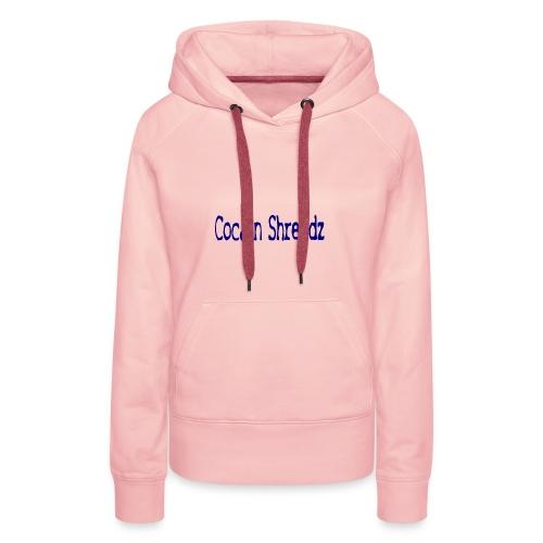 Cocain Shreddz blue - Frauen Premium Hoodie