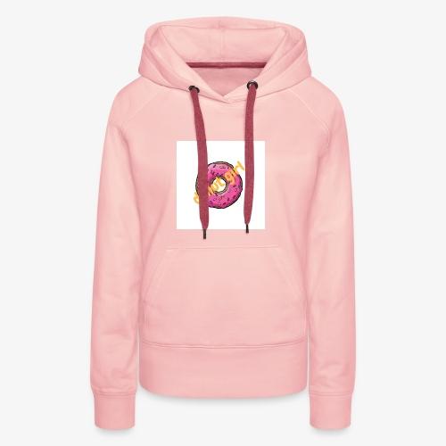 donut girl - Sudadera con capucha premium para mujer